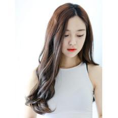 Tóc giả nữ Hàn Quốc cao cấp TG1777 ( NÂU HẠT DẺ )