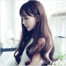 tóc giả nữ Hàn Quốc cao cấp TG982 ( NÂU HẠT DẺ NHƯ HÌNH ) chính hãng