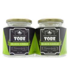 Tỏi đen cô đơn TOBE-Combo 2 hũ thủy tinh 800 gram nhập khẩu