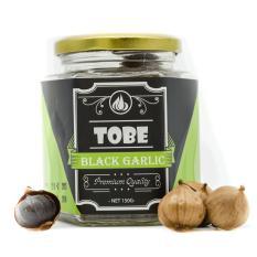 Tỏi đen cô đơn TOBE - hũ thủy tinh 150 gram (trừ bì). nhập khẩu