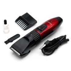 Tông đơ cắt tóc cho trẻ em KEMEI KM-730 (Đỏ phối đen) nhập khẩu