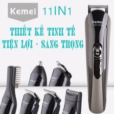 Hình ảnh Tông đơ cắt tóc đa năng 6in1 Kemei KM-600 - Hãng phân phối chính thức