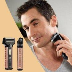 Hình ảnh Tông đơ cắt tóc kiêm máy cạo râu máy cắt lông mũi 3in1
