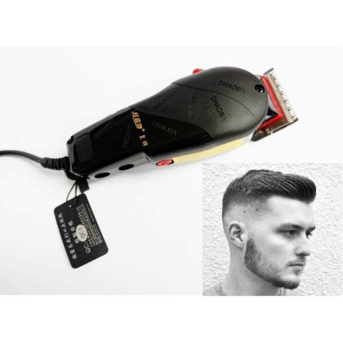Tông đơ cắt tóc mua ở đâu-Tông đơ cắt tóc cắm điện CHAOBA máy khỏe, chất lượng nhất toàn quốc