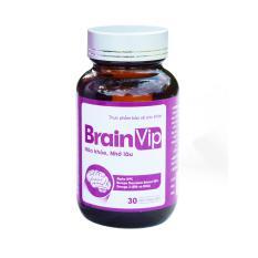 TPBVSK Nuôi dưỡng não bộ và cải thiện trí nhớ BrainVip