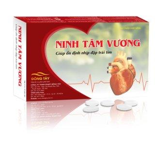 Tpcn viên nén hỗ trợ điều trị rối loạn nhịp tim nhanh NINH TÂM VƯƠNG thumbnail