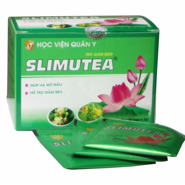 Trà giảm béo Slimutea Học Viện Quân Y (hộp 20 gói) giá rẻ