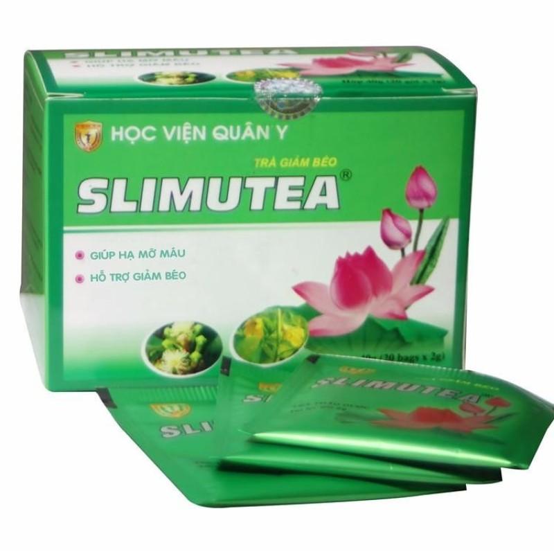 Trà giảm béo Slimutea Học Viện Quân Y (hộp 20 gói) nhập khẩu