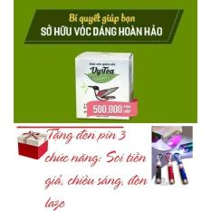 Trà Giảm Cân Tan Mỡ Vy & Tea - CHÍNH HÃNG (Liệu Trình 15 Ngày) + Tặng đèn Pin 3 chức năng: soi tiền giả, chiếu sáng, laze