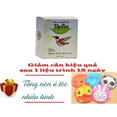 Trà Giảm Cân Tan Mỡ Vy & Tea - CHÍNH HÃNG (Liệu Trình 15 Ngày) + Tặng Mũ Ủ Tóc Nhiều Hình Xinh Xắn