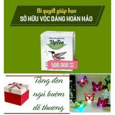 Trà Giảm Cân Tan Mỡ Vy Tea - HÀNG CHÍNH HÃNG -(Liệu Trình 15 Ngày) - + Tặng Đèn Ngủ Bướm Dán Tường