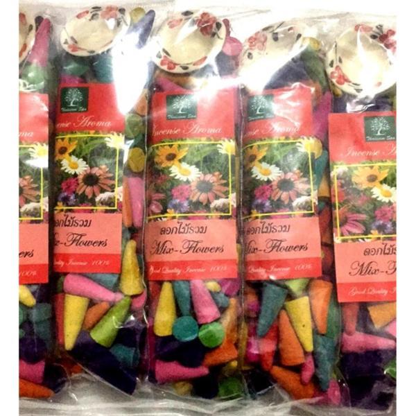 Trầm Nụ Tinh Dầu Thái Lan - Mix Nhiều Mùi Hương khác nhau 100 nụ