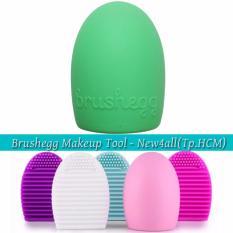 Trứng làm sạch cọ trang điểm Brushegg Cleaning Tools - Cleaning Makeup Brush (Xanh) tốt nhất