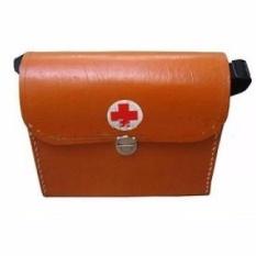 Túi cứu thương nâu (nhỡ) 29x21x10cm nhập khẩu