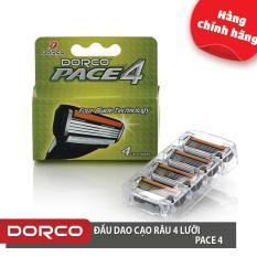 Mua Vỉ 04 Đầu Cạo Rau 4 Lưỡi Dorco Pace 4 Trực Tuyến Hồ Chí Minh