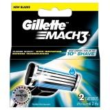Chiết Khấu Sản Phẩm Vỉ 2 Lưỡi Dao Gillette Mach3