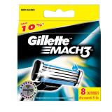 Mã Khuyến Mại Vỉ 8 Lưỡi Dao Gillette Mach3 Gillette Mới Nhất