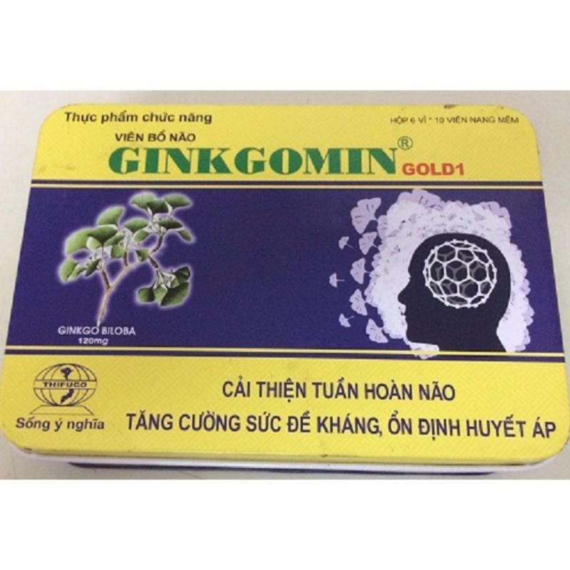 Viên bổ não GINKGOMIN GOLD1 cao cấp