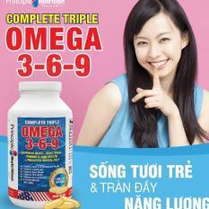 Chiết Khấu Vien Bổ Sung Omega 3 6 9 120 Vien 30 Vien Free Principlenutrition Hồ Chí Minh