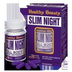 Viên giảm cân ban đêm Slim Night nhập khẩu