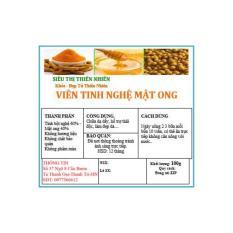 Viên tinh bột nghệ mật ong Sen Vàng 100g - Kmart