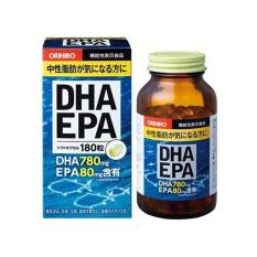 Viên uống bổ não DHA EPA Orihiro Nhật Bản 180 viên