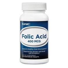 Viên Uống Bổ Sung Acid Folic GNC INTL GNC FOLIC ACID 400 MCG 100 Viên Đang Có Khuyến Mãi