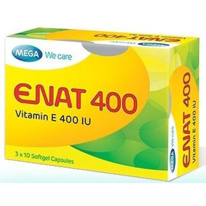 Viên uống bổ sung Vitamin E ENAT 400 cao cấp