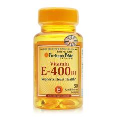 Hình ảnh Viên uống bổ sung Vitamin E giúp đẹp da, chống lão hóa, hỗ trợ hệ tim mạch Puritan's Pride Vitamin E-400 IU 50 viên