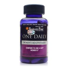Hình ảnh Vitamin tổng hợp cho phụ nữ 1 viên/ngày Puritan's Pride One Daily Women's Multivitamin 100 viên HSD tháng 12/2018