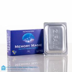 Bán Vien Uống Cải Thiện Tri Nhớ Memory Magic Uc 30 Vien Cmps Australia Rẻ