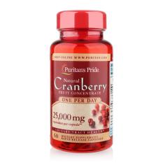 Giá Bán Vien Uống Giảm Viem Đường Tiết Niệu Giảm Tiểu Dắt Chống Oxy Hoa Puritan S Pride Natural Cranberry 60 Vien Rẻ