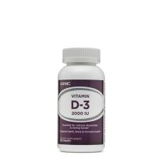 Thực Phẩm Bảo Vệ Sức Khỏe Bổ Sung Vitamin D3 GNC VITAMIN D-3 2000 IU Chai 180 Viên Ưu Đãi Bất Ngờ