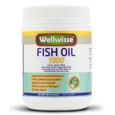 Bán Vien Uống Dầu Ca Wellwisse® Fish Oil 1000 365V Có Thương Hiệu