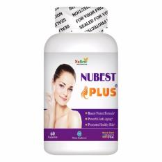 Bán Vien Uống Đẹp Da Chống Lao Hoa Của Mỹ Nubest Plus Hộp 60 Vien Có Thương Hiệu Nguyên