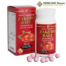 Viên uống hỗ trợ điều trị mãn kinh và làm đẹp da ZAKURO BALL 120 viên