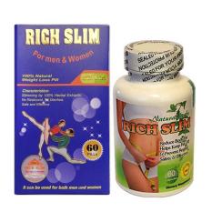 Viên uống hỗ trợ giảm cân Rich Slim USA 60 viên nhập khẩu