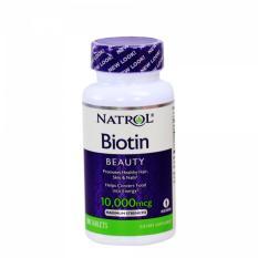 Giá Bán Vien Uống Mọc Toc Natrol Biotin 100 Vien Rẻ Nhất