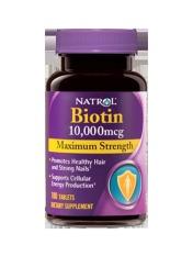 Ôn Tập Vien Uống Mọc Toc Natrol Biotin 100 Vien