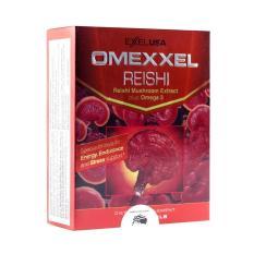 Hình ảnh Viên uống Nấm linh chi bồi bổ sức khỏe Omexxel Reishi- Hộp 30 viên- Chính hãng Hoa Kỳ