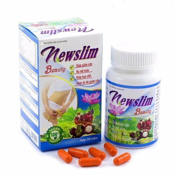 Viên uống Newslim Beauty m cân đẹp da 30 viên nhập khẩu