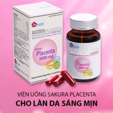 Giá Bán Vien Uống Sakura Placenta White Beauty Tặng Kem 1 Detox Life Gia Khong Đổi Rẻ