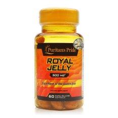 Sữa ong chúa giúp da dẻ hồng hào, hỗ trợ tăng cân, hỗ trợ sinh sản Puritan's Pride Royal Jelly 500mg 120 viên HSD tháng 8/2020