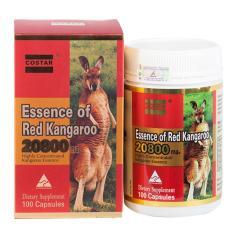 Hình ảnh Viên uống tăng cường sinh lý Essence of Red Kangaroo 20800 Max