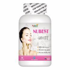 Mua Vien Uống Trắng Da Của Mỹ Nubest White Hộp 30 Vien Nubest Nguyên