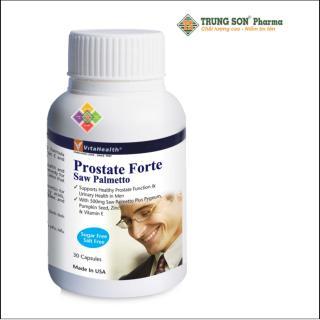 Vitahealth Prostate Forte - Viên uống hỗ trợ điều trị phì đại tuyến tiền liệt thumbnail