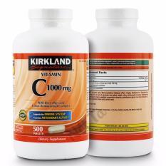 Giá Bán Vitamin C 1000Mg Kirkland Signature Hộp 500 Vien Mỹ Hỗ Trợ Tăng Cường Hệ Miễn Dịch Thuc Đẩy Qua Trinh Chống Oxi Hoa Mới Nhất