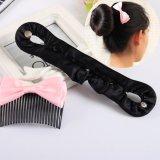 Womens Fashion Magic Hair Twist Styling Clip Stick Bun Maker Braid Tool 21CM - intl