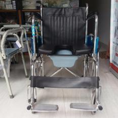 Hình ảnh Xe lăn bô ONEX-608- xe lăng - dành cho người già- người khuyết tật-có bô vệ sinh-bền-đẹp-rẻ-tốt