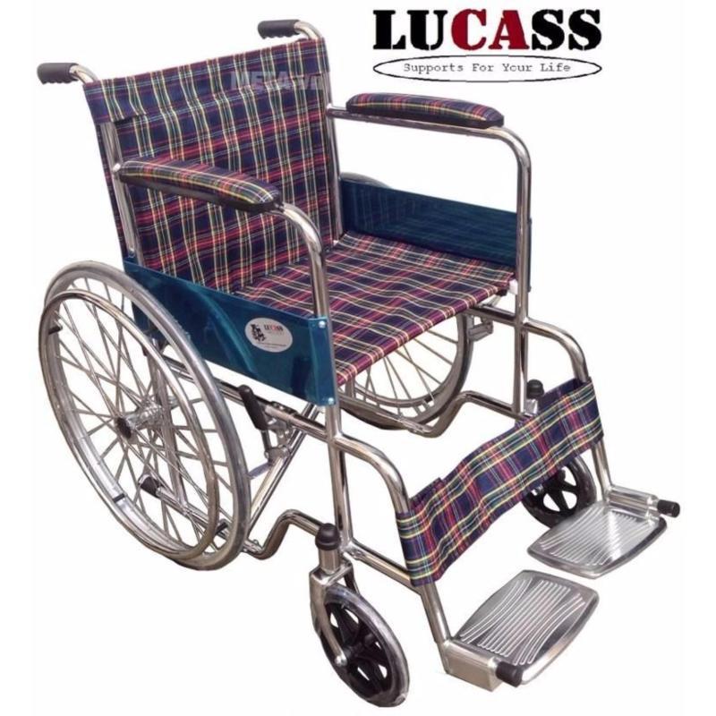 Xe Lăn Cao Cấp Vải Caro Lucass nhập khẩu